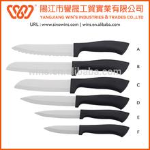 New Launch Hot Sale Ceramic Color Knife Set