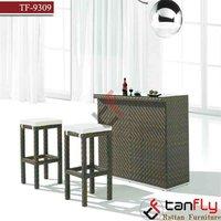 cheap rattan bar set furniture