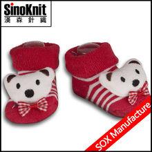 Bear Cartoon Baby Socks Like Shoe
