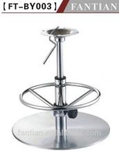 design girevole sgabelli da bar base in acciaio inox