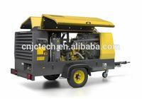Atlas Copco portable rotary screw compressors