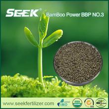 SEEK using organic fertilizer for garden