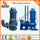 Rain Season non-clog submersible water pump 3hp centrifugal water pump