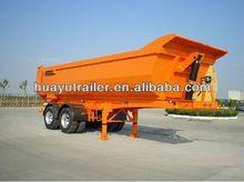 Heavy duty dump tipper semi truck trailer on sales