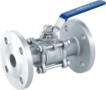 high quality high pressure 8mm ss316 flanged ball valve from china manufacturer