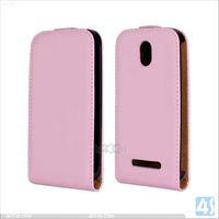 Business Genuine Leather Brief Case for HTC Desire 500 P-HTCDS500SPCA001