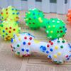 Cheap plastic dog bone toy, bone shape pet dog toy, dog toy rubber bones with sound