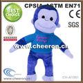 longas pernas e braços de macaco de pelúcia boneca bonito para presentes de natal