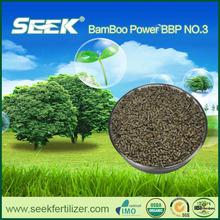 SEEK controlled release organic fertilizer for lawn