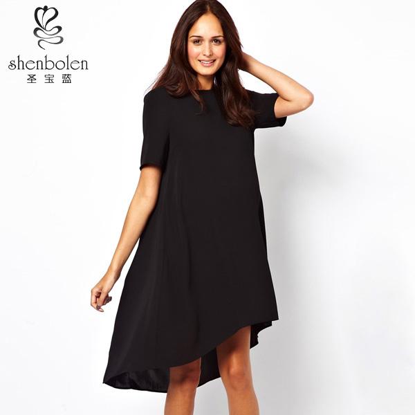 Black Loose Fitting Dresses Dresses Black Loose Fit