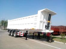 3 axle 60 Ton tipper truck /Semi Trailer on sales
