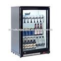 Deep congélateur armoireévaporateur/réfrigérateur vertical porte en verre