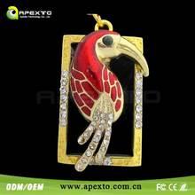 Luxu Parrot Jewel USB Flash Drive Exquisite high quality Shenzhen Manufacturer