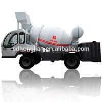 portable concrete mixer with plastic drum