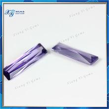 Good Princess Cut Wuzhou Xiang Yi Gems Whole Synthetic Gem Stone Prices