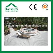 Weight resisting outdoor flooring board