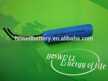 3.7v Li-ion 14500 900mah rechargeable flat top battery
