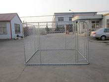 Heavy duty hot dip galvanized large outdoor metal pet dog fence