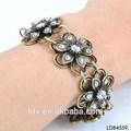 vintage floral blooming flor pulseira bracelete turquia otomana jóias
