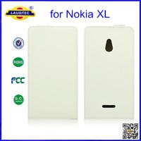 Ultra Thin Slim Leather Flip Case for Nokia XL, Laudtec