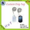 dog name id tag Cheap Wholesale Custom Metal Blank Dog Tag With Epoxy