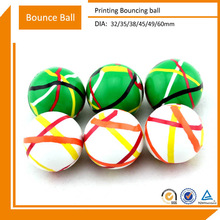 2014 Cheap Hollow Rubber Bouncing Balls
