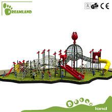 New design amusement kids outdoor climbing wall