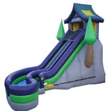 high quality residential inflatable water slides