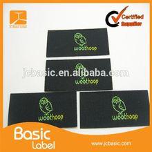 custom cheap key tag label Woven label