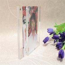 2013 newly designed acrylic photo frame latest design acrylic frame
