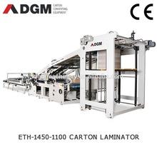 Automatic high speed automatic flute laminate machine ETH1450-1100