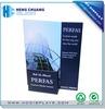 Supermarket promotional printed cardboard brochure holder for business cards