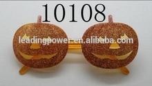costume party glasses / maks party sunglasses/pumpkin 17108