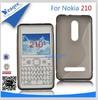 Soft new tpu gel skin case cover for nokia asha 210
