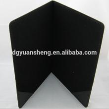types high quality custom pu folder case for ipad