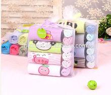 10 PCS long-sleeve rompers set, newborn baby gift set,newborn baby clothing set