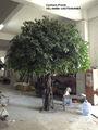 Guangzhou usine de faire d'énormes grand grand décoratifs faux extérieur de haute imité ficus artificial banyan tree pour la décoration
