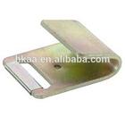 zinc coated flat hook, metal belt clips