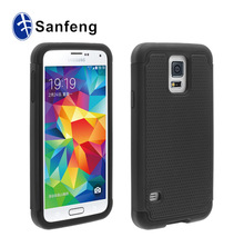 Top Rated Dot Textured Dual Hybrid For Samsung S5 Case Galaxy S5 Cases Tough Armor