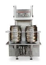 Beer machine, keg and bottles filling machine