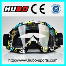 water transfer printing frame custom logo band dirt bike racing goggle