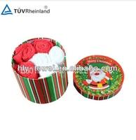 Textile Christmas Crafts Gift Towel Set Adult Gift Baskets