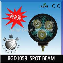 10-80v DC6000k 6wor9w 3.5'' auto atv bar RGD1059for offroad motocylce atv suv
