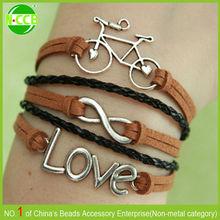 cheap infinity love bracelet /anchor bracelet /custom bracelet