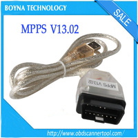 2015 Top Selling Auto ECU Chip Tuning Tool MPPS V13.02 USB To OBD2 16PIN Diagnostic Cable