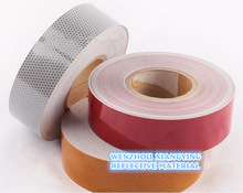 PVC Clear bright high reflective plastic material