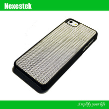 Rubber leahter case for iphone for Apple iPhone 5S case Taiwan wholesale