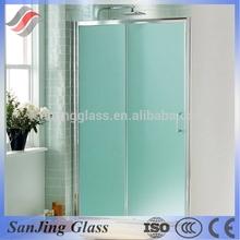 bathroom partition glass