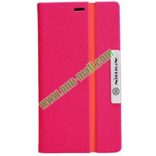 Fashionable Design Texture Leather Flip Case for Nokia Lumia 720 with Stand