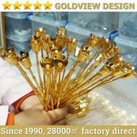 OEM plated 24k gold rose gifts,24k gold foil rose,pure gold 24k rose